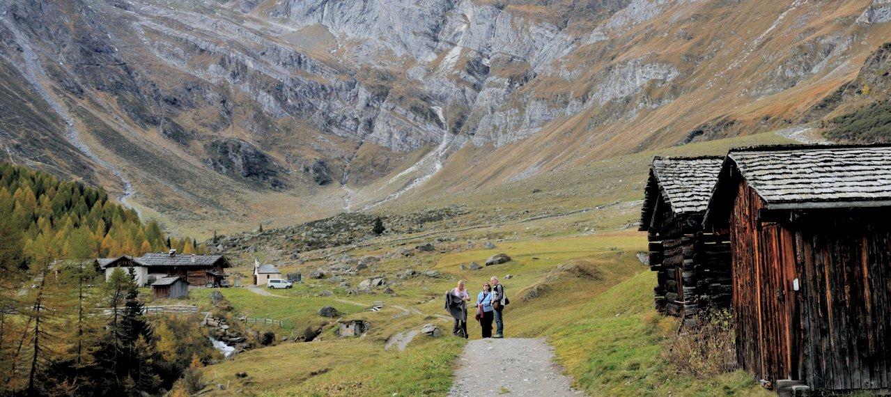 Wanderungen Gasthof Lazins